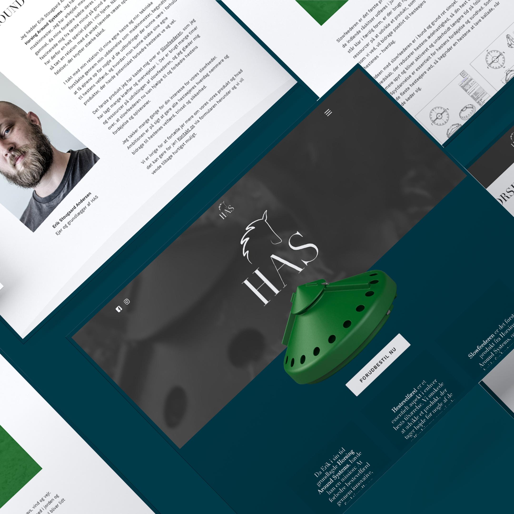Hjemmeside for Horsing Around Systems