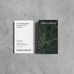 Ny identitet for Chris Schelde