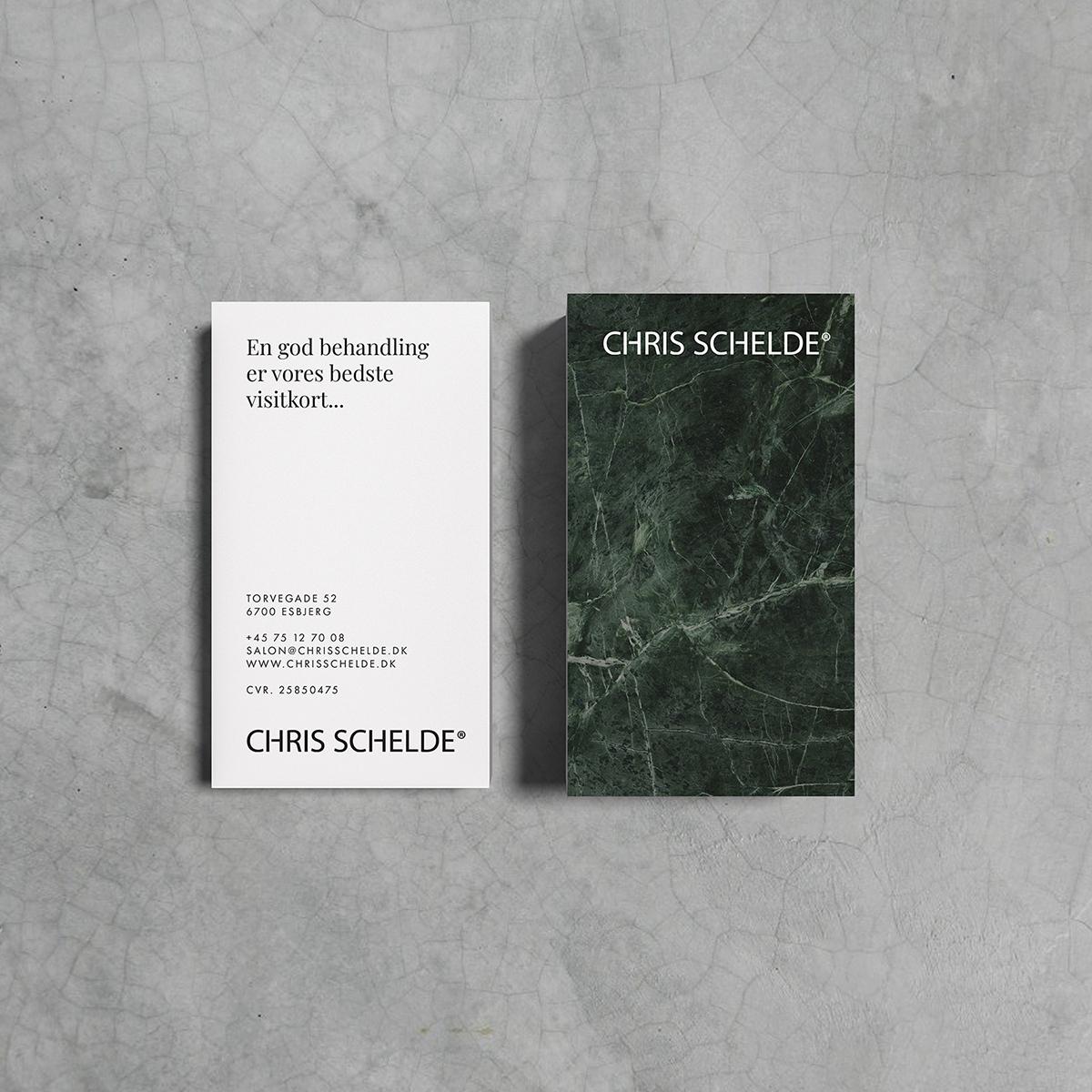 Ny identitet for Chris Schelde