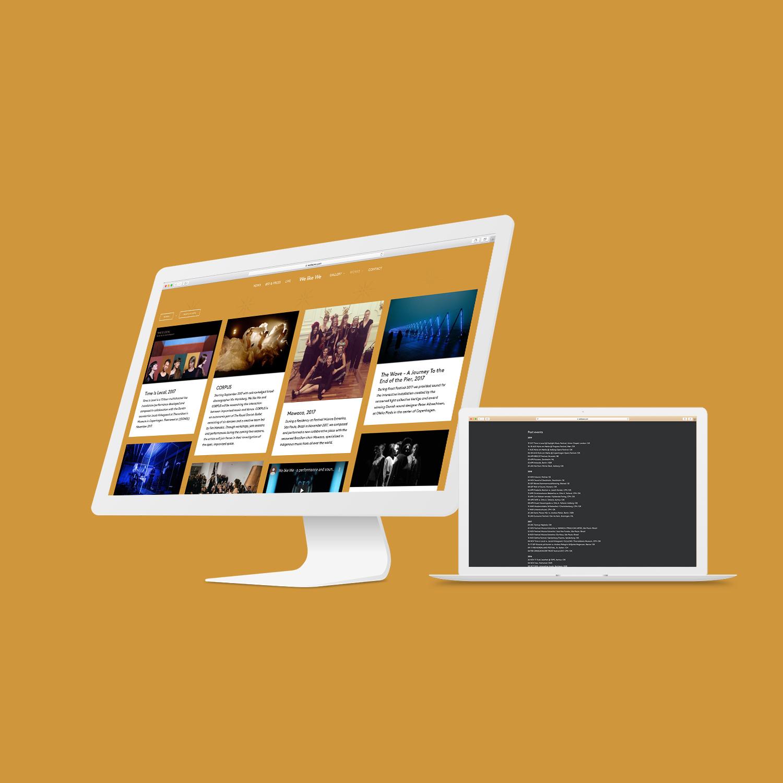 Hjemmeside for We like We