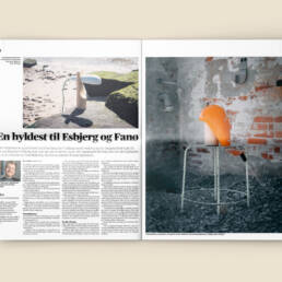 Mock-up af fotografi for designer Bjørn Grummesgaard Hagensen