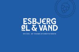 Visitkort for Esbjerg Øl & Vand