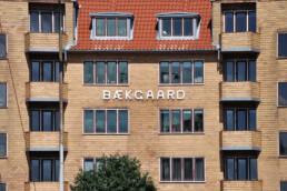 Bækgaards facade